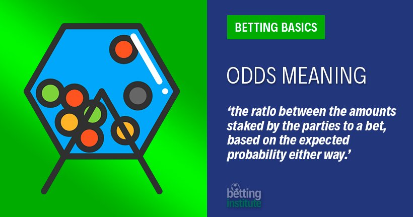 Betting Odds Meaning