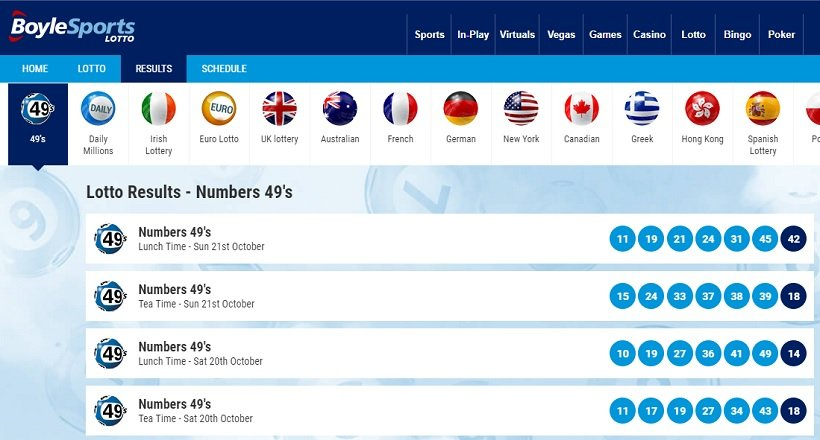 Lottery Betting: Bet On The Lottery Online [2019 updated] - Betting