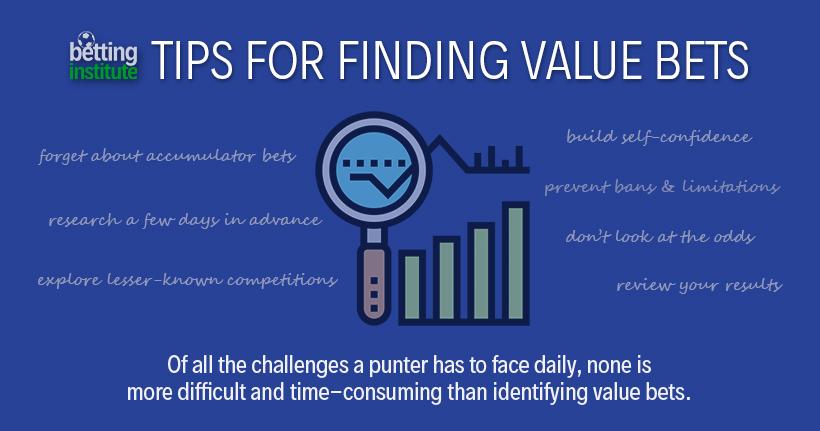 Conseils pour trouver des paris de valeur