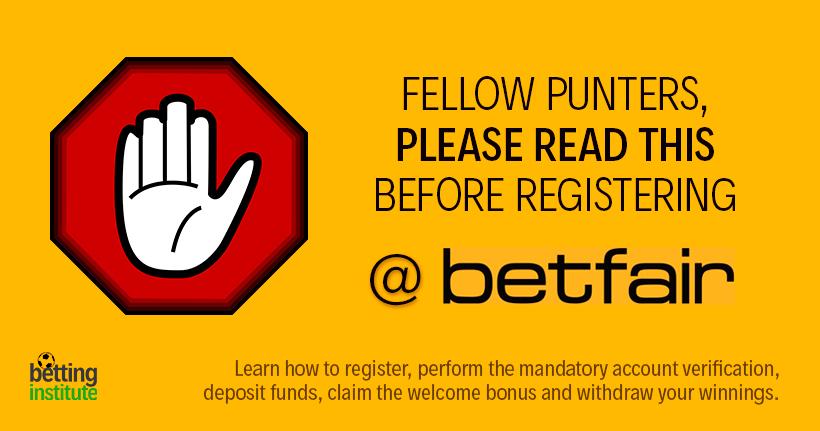 Open Betfair Account