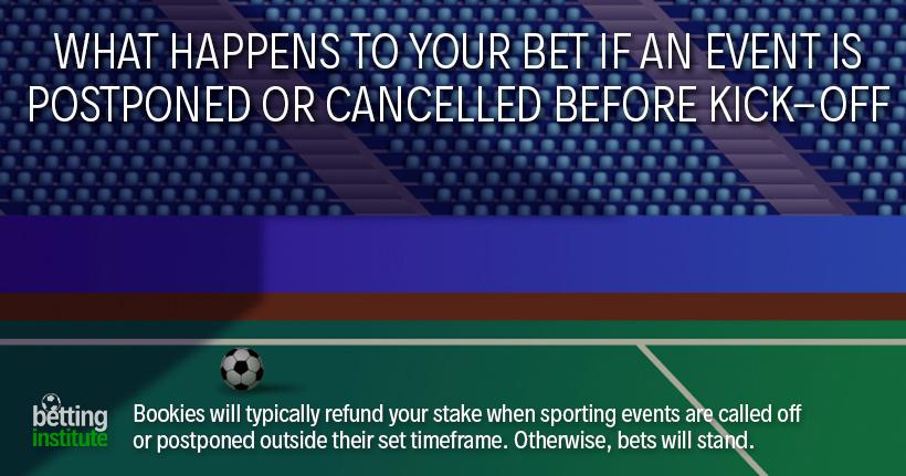 Postponed football games betting sell localbitcoins login